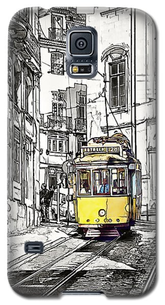 Lisbon Tram 28 Galaxy S5 Case