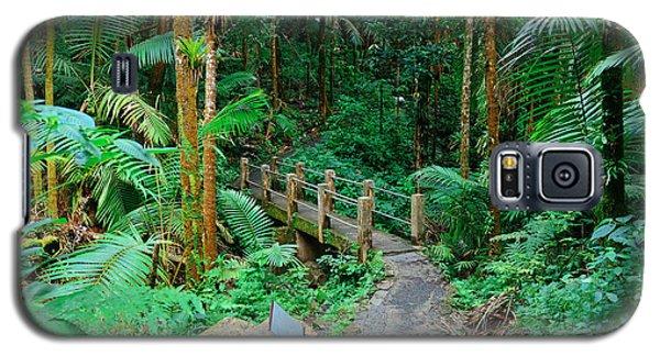Tropical Rain Forest In San Juan Galaxy S5 Case