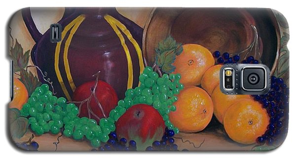 Galaxy S5 Case featuring the painting Tuscany Treats by Sharon Duguay