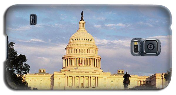 Capitol Building Galaxy S5 Case - Usa, Washington Dc, Capitol Building by Walter Bibikow