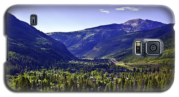 Vail Valley View Galaxy S5 Case by Madeline Ellis