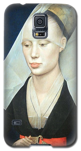 Galaxy S5 Case featuring the photograph Van Der Weyden's Portrait Of A Lady by Cora Wandel