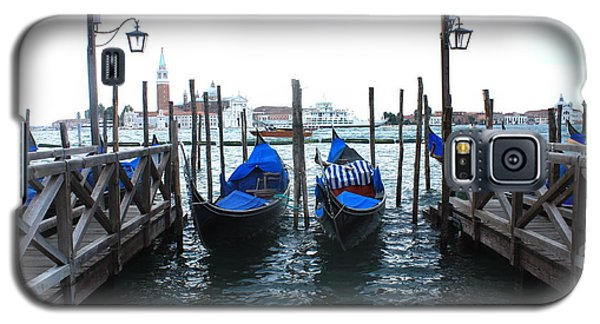Galaxy S5 Case featuring the photograph Venice Italy by Jean Walker