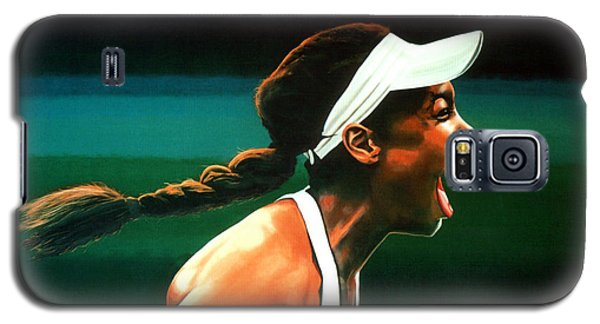 Serena Williams Galaxy S5 Case - Venus Williams by Paul Meijering