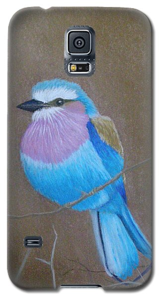 Violet-breasted Roller Bird Galaxy S5 Case