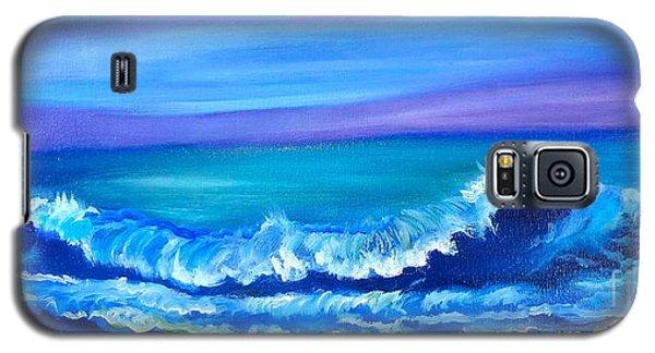 Wave Galaxy S5 Case by Jenny Lee