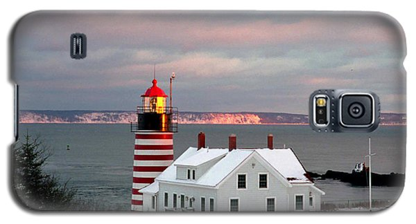 West Quoddy Head Lighthouse Galaxy S5 Case by Alana Ranney