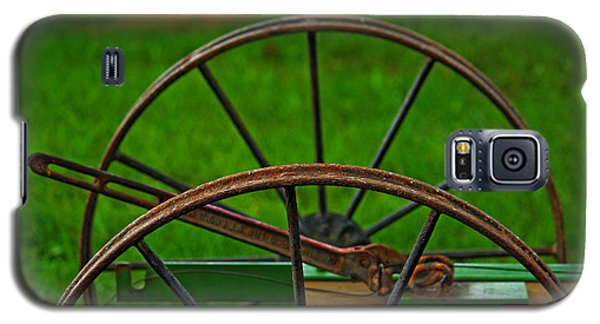 Galaxy S5 Case featuring the photograph Wheels Of Time by Rowana Ray