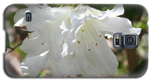 White Azalea Galaxy S5 Case