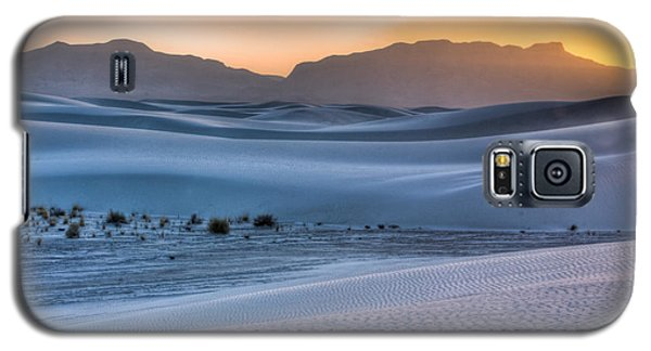 White Sands Sunset Galaxy S5 Case
