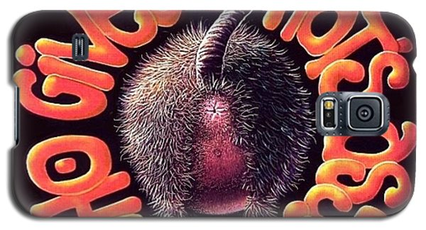 Galaxy S5 Case featuring the digital art Who Gives A Rat's Ass? by Scott Ross