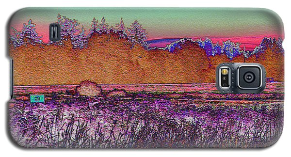 Willamette Valley Sunrise Galaxy S5 Case