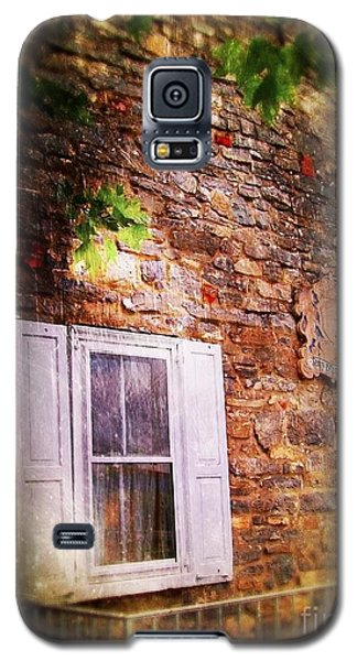Galaxy S5 Case featuring the photograph Window On The Rocks  by Becky Lupe