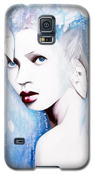 Galaxy S5 Case featuring the painting Winter by Denise Deiloh