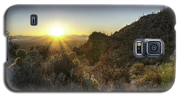Winter Sunset Galaxy S5 Case by Lynn Geoffroy