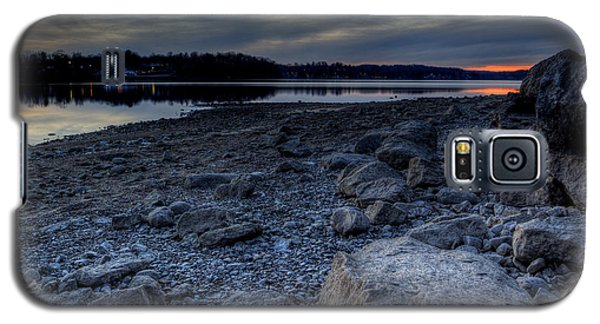 Winter Sunset On The Lake Galaxy S5 Case