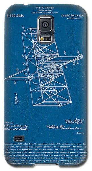 Wright Brothers Flying Machine Patent Galaxy S5 Case