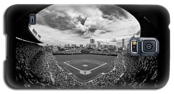 Wrigley Field  Galaxy S5 Case by Greg Wyatt