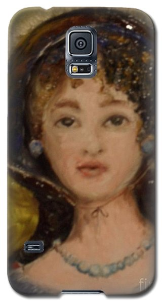 Galaxy S5 Case featuring the painting Yesterday by Laurie L