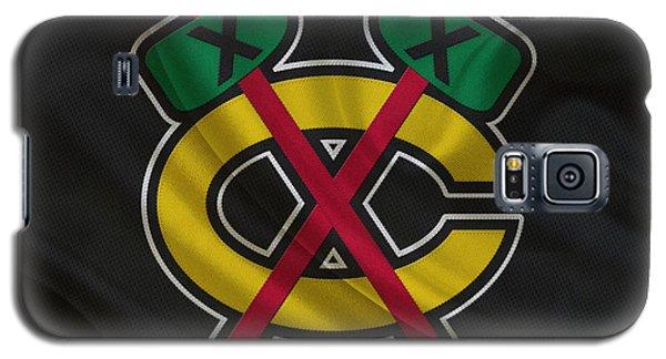 Chicago Blackhawks Galaxy S5 Case by Joe Hamilton