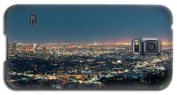 Los Angeles At Night Galaxy S5 Case