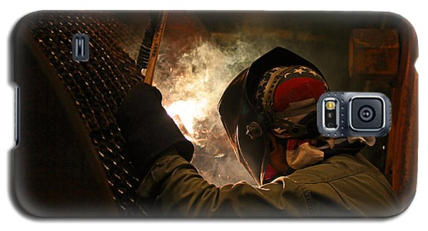 Welding Galaxy S5 Case