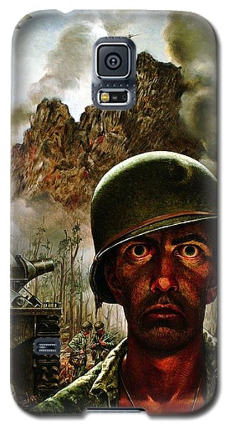 2000 Yard Stare Galaxy S5 Case by Mountain Dreams