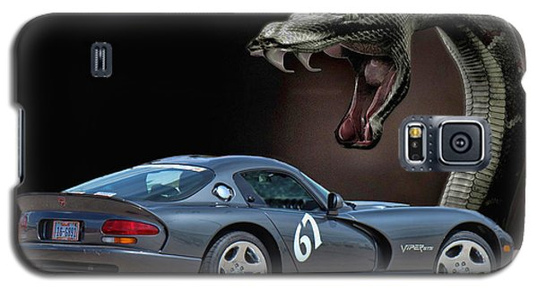 2002 Dodge Viper Galaxy S5 Case by Sylvia Thornton