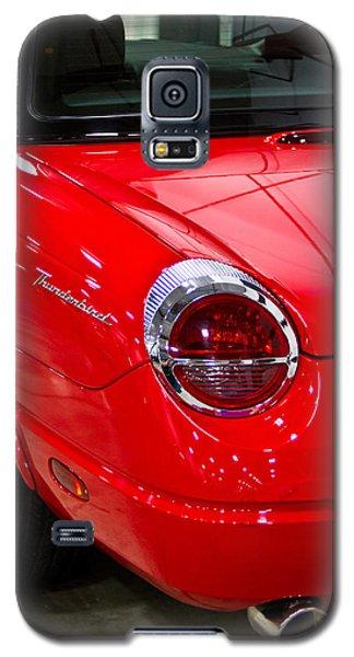 2002 Red Ford Thunderbird-rear Left Galaxy S5 Case by Eti Reid