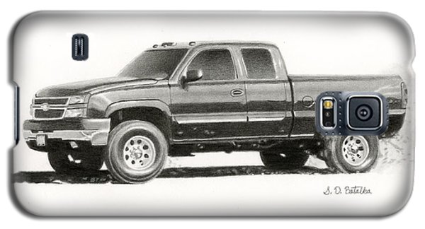 2006 Chevy Silverado 2500 Hd Galaxy S5 Case by Sarah Batalka