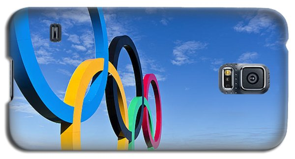2012 Olympic Rings Over Edinburgh Galaxy S5 Case