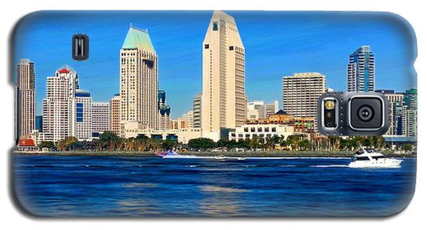 2014 San Diego Skyline Galaxy S5 Case
