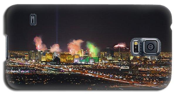 2015 Las Vegas New Years Fireworks Galaxy S5 Case