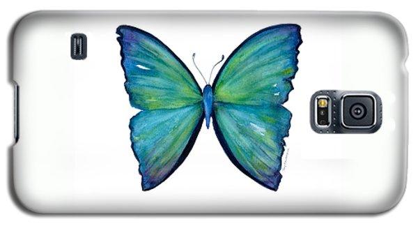 21 Blue Aega Butterfly Galaxy S5 Case