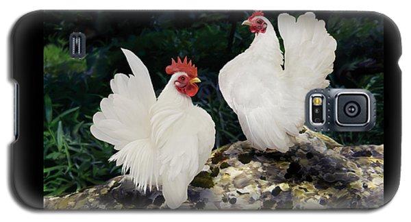 23. Pair White Serama Galaxy S5 Case