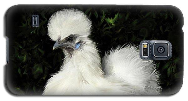 24. Tiny White Silkie Galaxy S5 Case