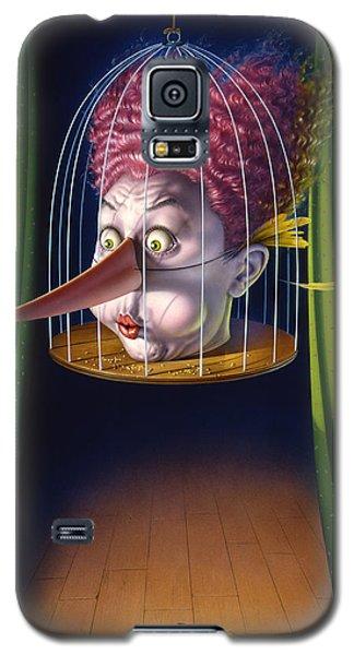 24th Annual Waxdeck's Bird Calling Contest Galaxy S5 Case by Mark Fredrickson