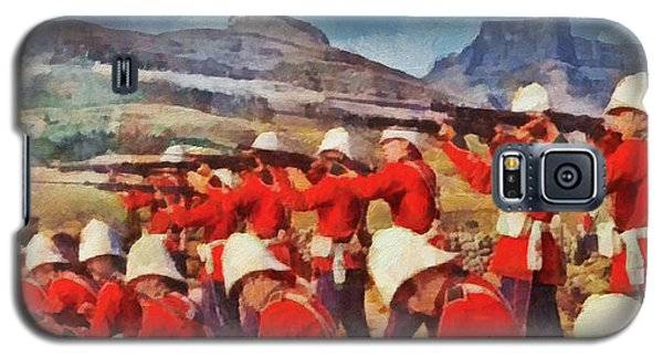 24th Regiment Of Foot - Rear Rank Fire Galaxy S5 Case