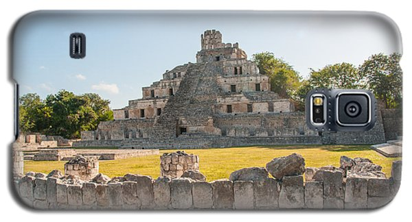 Edzna In Campeche Galaxy S5 Case by Carol Ailles