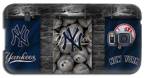 Professional Baseball Teams Galaxy S5 Case - New York Yankees by Joe Hamilton
