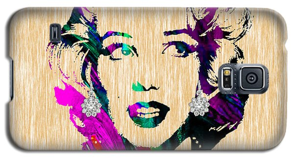 Marilyn Monroe Diamond Earring Collection Galaxy S5 Case