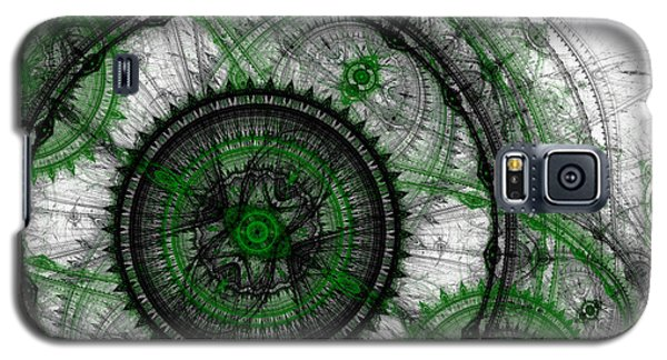 Abstract Mechanical Fractal Galaxy S5 Case