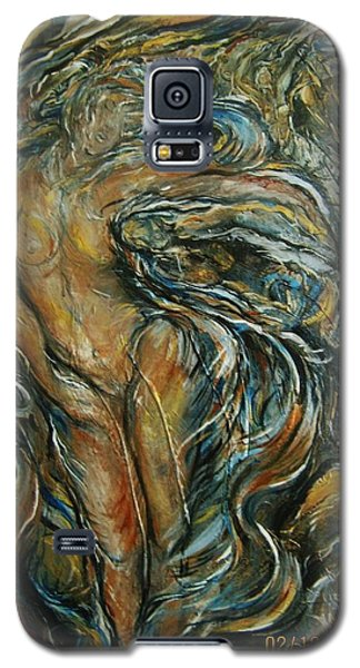 Galaxy S5 Case featuring the painting Air by Dawn Fisher