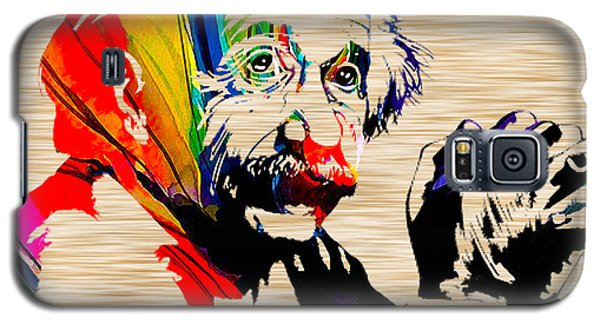 Albert Einstein Galaxy S5 Case by Marvin Blaine