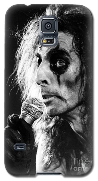 Alice Cooper 1979 Galaxy S5 Case by Chris Walter
