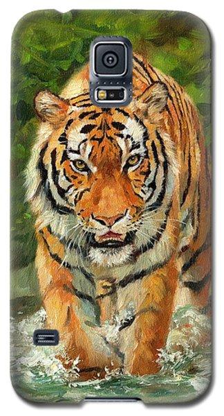 Amur Tiger Painting Galaxy S5 Case