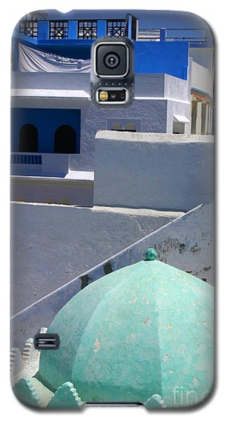 Galaxy S5 Case featuring the photograph Asilah Meaning Authentic In Arabic Fortified Town On Northwest Tip Of Atlantic Coast Of Morocco by Ralph A  Ledergerber-Photography