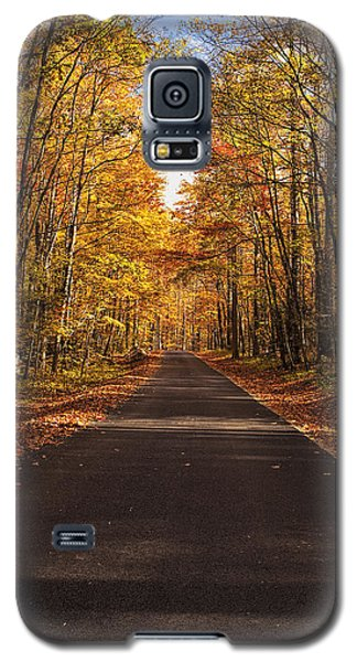 Autumn Drive Galaxy S5 Case by Andrew Soundarajan