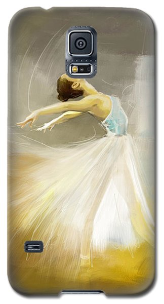 Ballerina  Galaxy S5 Case by Corporate Art Task Force