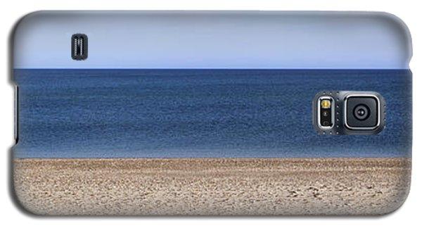 Color Bars Beach Scene Galaxy S5 Case